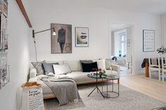 Šarmantan skandinavski stan   Uređenje doma