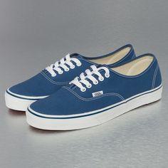 opvallende Vans Authentic (blauw)