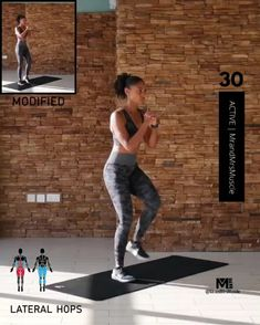 A full body HIIT workout — no equipment required Improve heart health, increase fat loss and strengthen and tone your muscles . Fitness Workouts, Full Body Hiit Workout, Gym Workout Videos, Fitness Workout For Women, Sport Fitness, Yoga Fitness, At Home Workouts, Fitness Motivation, Health Fitness