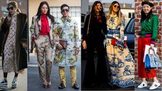 Of Course Showgoers Wore Gucci on Day 1 of Milan Fashion Week. It's pretty much an unwritten street style rule.