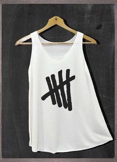 Five Second of Summer Pop Rock Shirt Tank Top by FourthSeason
