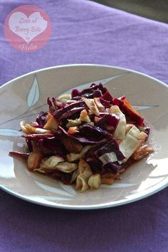 Insalata di cavolo orientale - Oriental cabbage salad - Loveateverybite