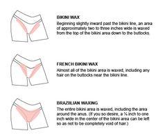 Sugaring Hair Removal, Wax Hair Removal, Types Of Bikini Waxes, Diy Bikini Waxing, Brazilian Wax Tips, Bikini Line Wax, Waxing Aftercare, French Bikini, Waxing Tips