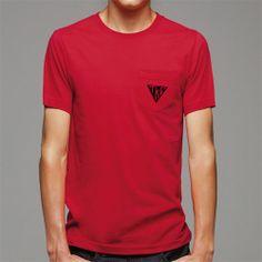 Campus Classics - Teke Red Pocket Tee: $21.95