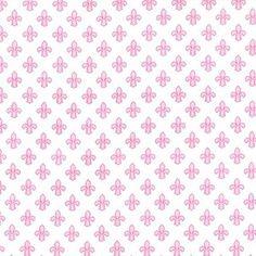 Michael Miller House Designer - Petite Paris - Petite Fleur De Lis in Rose