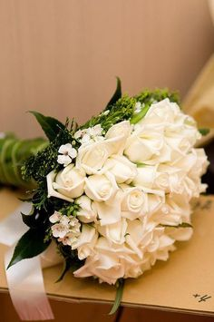 White roses/ Nothing more beautiful than white roses or flowers....who says there's an absence of color?