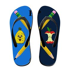 MEIDINGT Women's Or Men's Unisex PPAP Song Flip Flops ** Want additional info? Click on the image.