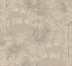 Lim & Handtryck Tapet - Bambu grå/vitVälkommen till förra sekelskiftet