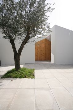Entrance to Casa Lela, Portugal by Oficina de Arquitectura