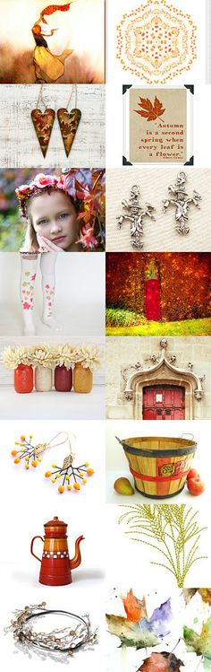 When every leaf is a flower... by kuku lele on Etsy--Pinned with TreasuryPin.com