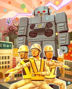 beastie boys intergalactic robot