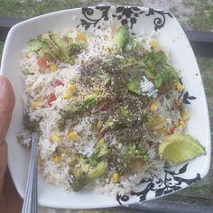 Carbing up! #rice #chiaseeds  #vegan #foodies #smoothies #vegetarian #health #abs #calisthenics #fitness #power #carbs #carbthefuckup #greens #sesameseeds #freeletics #diabetes #liver #tennis #mma #jiujitsu #sports  #rawuntil4 #film #actor  #morocco #moroccan #casablanca #florida by affanben