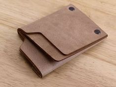 Siena Minimalist Leather Wallet: Carry Only What You Need by Siena Designs — Kickstarter