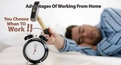 Benefits of working from home  http://athomeresourcecenter.com/ #Work #WorkFromHome #hardworkpaysoff #Workhard #earnmoney