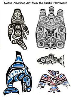 worksheet to help with Native American mask designs
