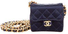 Chanel Satin Mini Shoulder Bag