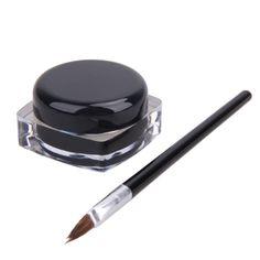 Eye Makeup Black Gel Eyeliner Make Up Water-proof Set Eye Liner Kit With Brushes Liquid Eyeliner Beauty Make up Tool Maquiagem