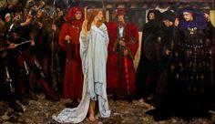 The Penance of Eleanor, Duchess of Glouster - Edwin Austin Abbey.