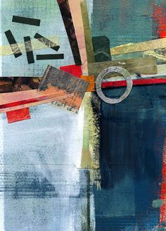 The Old Cells Studio - Michèle Brown Art Collage and mixed media
