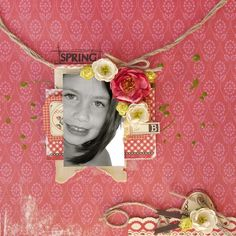 Layout by Jamie Dougherty using Rosarian by Prima