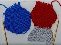 Knit hexagon blanket instructions