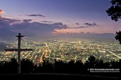City of Quetzaltenango, view from El Baul hill. Photo by Maynor Mijangos | Only the best of Guatemala