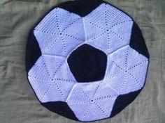 tapetes de barbante de desenho bola de futebol