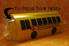 The Yellow Twinkie: Bus Driver Thank You