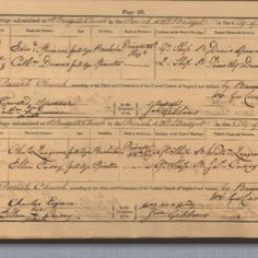 Genealogical gold dust - marriage record showing military career