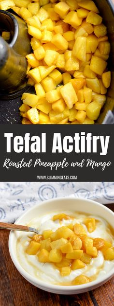 Enjoy two delicious courses courtesy of Tefal Actifry, Spiced Thai Chicken Curry and Roast Pineapple and Mango - delish! Tefal Actifry, Thai Chicken Curry, Lamb Curry, Actifry Recipes, Roasted Pineapple, Mango Curry, Gourmet Recipes, Healthy Recipes, World Recipes