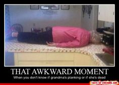 that more awkward moment, when you take a picutre before checking