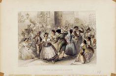 Una fête de Paroisse á Alicante. Rouargue fréres del. et sc. París, entre 1850 y 1900