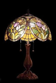 Tiffany Style Stained Glass Table Lamp QG162122