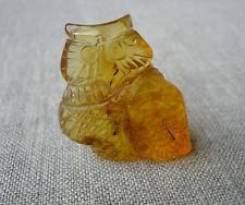 Hand carved Baltic amber figurine of owl http://magnificent-deluxe-review.buy2day.info/buy/01/?query=161762231644…