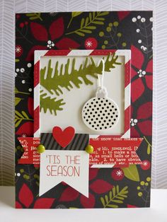 Simple Stories DIY Christmas - 'Tis the Season  Get all your Simple Stories Supplies at allscrapbooksteals.com 25% to 90% off All day Everyday!