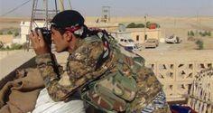 تنسيق أمريكي مع قوات كردية سورية لمواجهة تنظيم الدولة الإسلامية US coordination with Syria Kurdish forces to confront the organization of the Islamic State