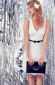 Cute dress & accessories. Laundry by Shelli Segal Dress & Accessories  available at #Nordstrom