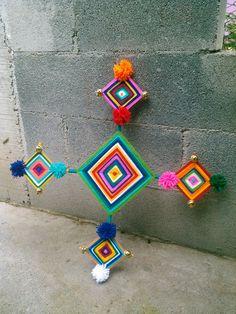 Ojo de dios Wixárika (Huichol)