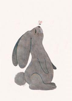 Attila Le lapin, Cathy Delanssay, L'Affiche Moderne