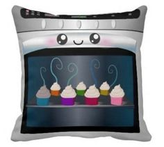 Cupcakes in oven pillow!