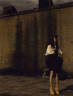 'Against the Grain' alina rock by jamie nelson Fashion Shoot, Editorial Fashion, Jamie Nelson, Devil You Know, Dark Fashion, Dark Side, My Dream, The Past, Beautiful Women