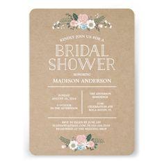 Sweet Floral | Bridal Shower Invitation