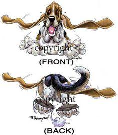 basset hound t shirts | bassett hound in ireland pics