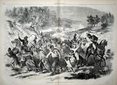 Tasmania's forgotten war: The Black War  Source: Harper's Weekly via The Wire.
