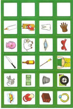 Educar é arte !!: Caça rimas - jogo alfabetização