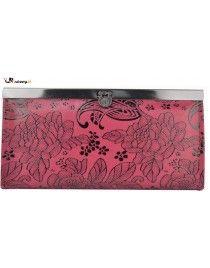 Roza denarnica, lahko tudi manjša večerna torbica http://zabavna.si/si/denarnice/73-zenska-denarnica-simba-roza.html
