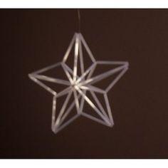 Pieni tähti himmeli ohje - Charlotta Straw Weaving, Star Lanterns, Xmas, Christmas, Crafts For Kids, Crafty, Make It Yourself, Geometric Designs, Beading
