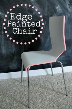 Edge Painted Chair