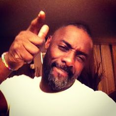 We love him when he's in a happy mood. | Literally Just 28 Important Instagram Photos Of Idris Elba