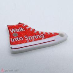 Παπουτσάκι ακρυλικό 2.5cm - walk into spring Converse, Walking, Spring, Sneakers, Shoes, Fashion, Tennis, Moda, Slippers